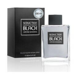 Seduction In Black Antonio Banderas EDT 200 ML