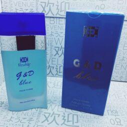 G & D Blue inspirado Light Blue D & G EDT 100 ML